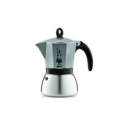 Cafetière italienne bialetti induction Moka express anthracite - 6 tasses-BIALET