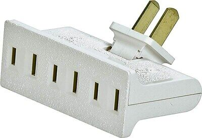 Tap 3 Outlet Swivel2p/3w White,No BP1792W-SP,  Cooper Wiring Devices Inc, 3PK
