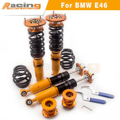 Coilover for BMW E46 3 Series Coupe Saloon Estate Touring Adjustable Suspension