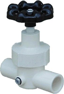 Line Stop Valve With Waste by Genova Products, 3PK