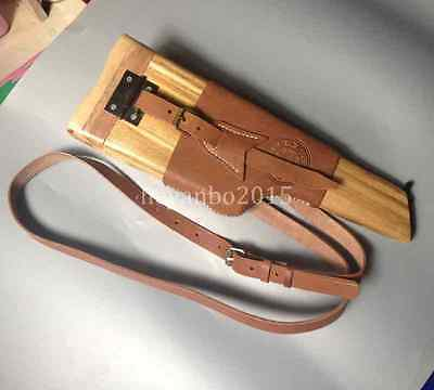 Collectible Chinese Navy Military Mauser Broomhandle Holster And Wood Stock