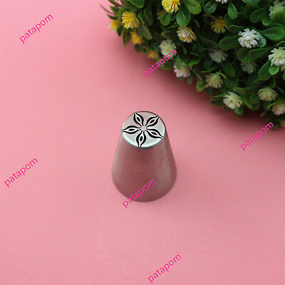 New Russian Bauhinia Flower Icing Piping Nozzles Cake Decor Tip Baking DIY AU