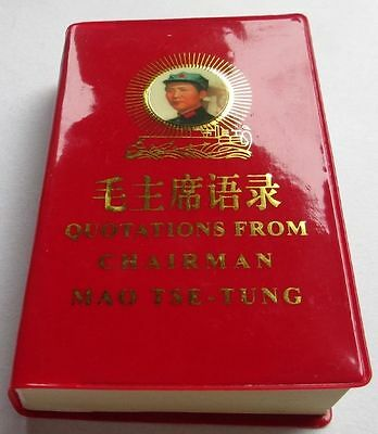Chinese English Quotations From Chairman Mao Tse-Tung Little Red Book Legal Copy