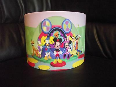 "Mickey Mouse Clubhouse 10"" Drum Ceiling Lampshade Lightshade"