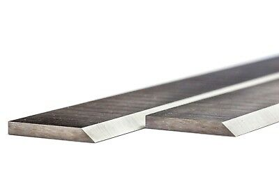 LUREM  Pair of HSS PLANER BLADES 260mm long to fit LUREM planers RESHARPENABLE