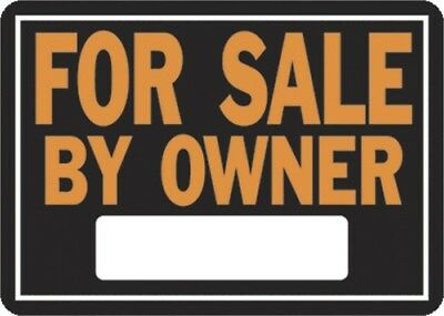 FOR SALE BY OWNER ALUM SIGN,No 845,  Hy-Ko Prod Co, 3PK