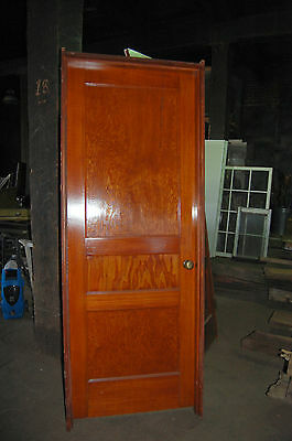 "Antique 3 Panel Pine Door 30"" X 80"" In Jamb Several Available Architectural Salv"
