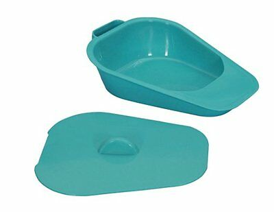 Patterson Medical Selina Slipper Bed Pan with Lid, Male Female Urinal Bedpan