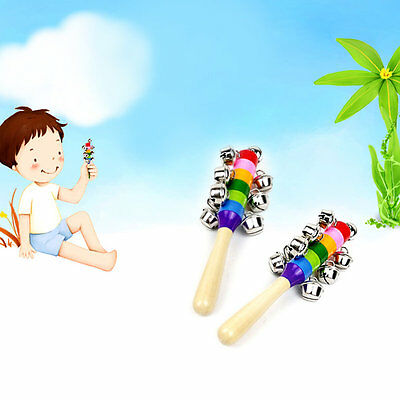 Cute Children Kids Bed Bells New Infant Baby Developmental Toys Handbell AU