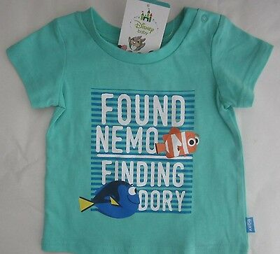 FINDING DORY NEMO licensed short sleeve t tee shirt top cotton NEW sizes 000-2