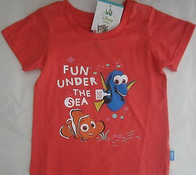 FINDING DORY NEMO licensed Girl s/sleeve t tee shirt top cotton NEW sizes 000-2