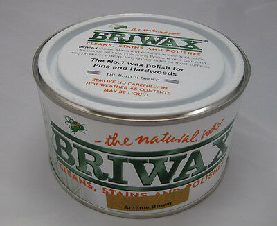 Briwax Original auf Toluol-Basis  - 400 g Dose Antikbraun antique brown