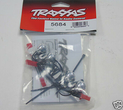 5684 Traxxas RC Car Parts LED Light Bar Chrome 4 Clear lights For: Summit New UK