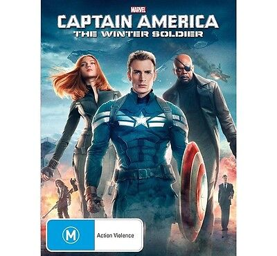 CAPTAIN AMERICA 2:The Winter Soldier-Chris Evans-Region 4-New AND Sealed