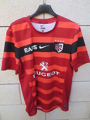 Maillot rugby STADE TOULOUSAIN NIKE 2013 away shirt rouge supporter collection S