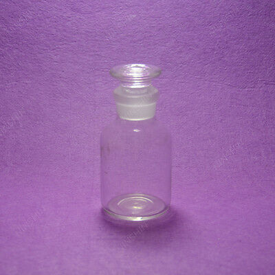 60ml Glass Reagent bottle,wide mouth,Ground stopper,Without Graduation