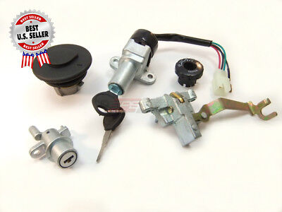 Key Set Ignition Switch QT 50 Venice Scooter Moped ~ US Seller