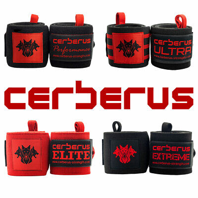 CERBERUS Strength Wrist Wraps (Pair)