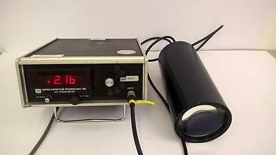 UDT United Detector Technology 21A Optical Power Meter Radiometric Filter & Lens