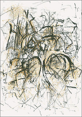 Joan Mitchell Original Limited Edition Photo-Lithograph, Published by MoMA 1967