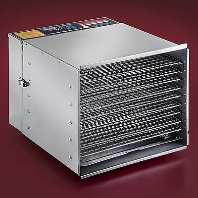 Large Food Dehydrator Commercial Industrial Grade Jerky Stainless Steel Dehydra