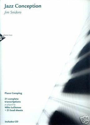 Jim Snidero Jazz Conception Piano Comping Noten mit CD