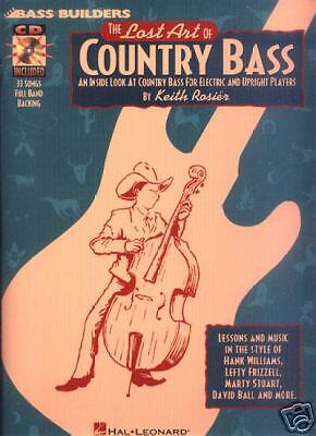 Keith Rosier Lost Art of Country Bass Kontrabass CD