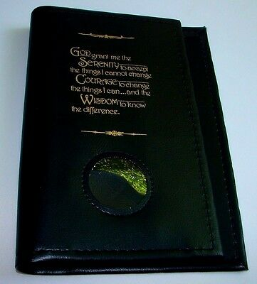 Alcoholics Anonymous AA Big Book Paperback Serenity Black COVER Sobriety Sober