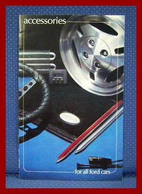 1981 FORD + Mustang Automobile Accessories Brochure - FREE USA Shipping!