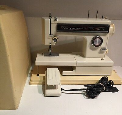 Kenmore 158.1595281 Ultra-Stitch 12 Free Arm Zigzag Sewing Machine with Case