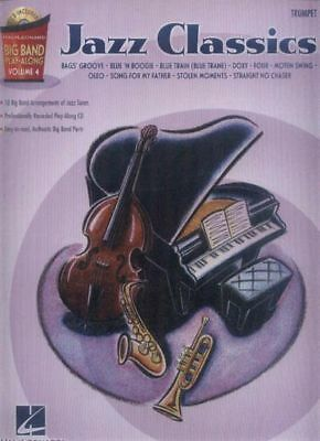 Jazz Classics Big Band Play-Along 4 Trompete Trumpet Noten mit CD