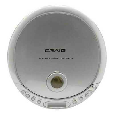 New Sealed Craig CDM2891 Personal CD/MP3 Player Anti-skip 100/40 w/ Earphones