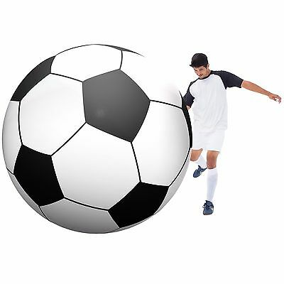 GoFloats Giant Inflatable Soccerball - 6 Feel Tall