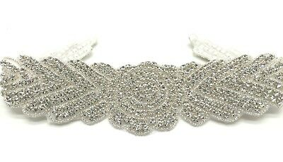 High Quality Rhinestone Crystal Diamante Bridal Sash Wedding Dress Belt