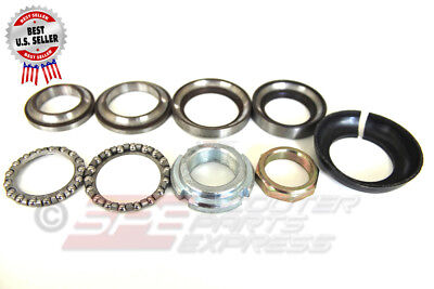 Steering Stem Bearing Set Zip Hurricane Scooter Moped~ US Seller
