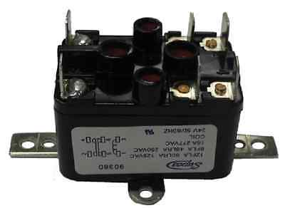 enclosed general purpose fan relay v normally opened supco 90380 spst no nc 24v general purpose fan relay 90 380 pr380