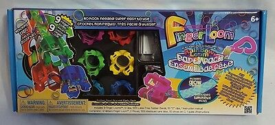 New Rainbow Loom Finger Loom Rubber Band Bracelet Party Pack Jewelry Making Kit
