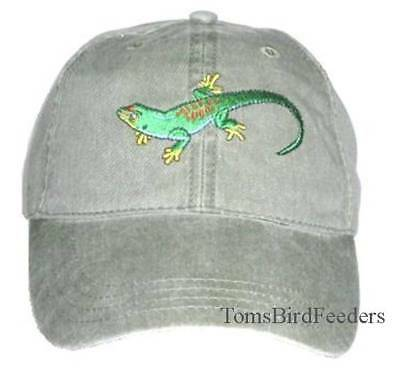 Day Gecko Embroidered Cotton Cap NEW Hat