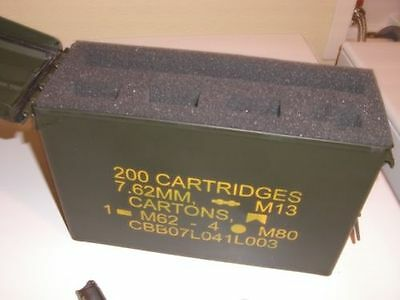 Ammo Can Foam Insert-Turn your 30 caliber ammo can into a pistol/handgun case