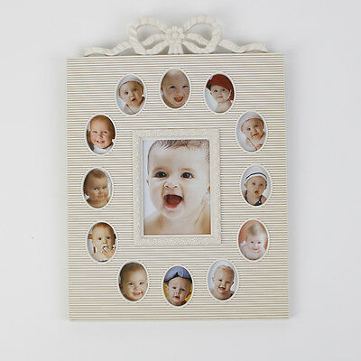 Baby Multi Photo Picture Frame My First Year 12 Month Slots 2500
