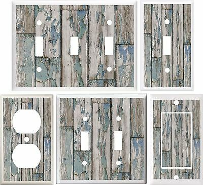 Beach Wood Image Of Coastal Light Switch Cover Plate Or Outlet V874
