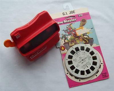 View-Master G.I. Joe Soldier 3 Reels 21 3D Pictures & Hand-Held View-Master