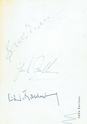 LORENZO BANDINI - Postcard Signed to the reverse by Bandini, Brabman