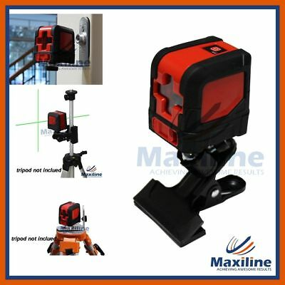 New Design 1V1H Green Beam Self Leveling Cross Line Laser Level w Wall Bracket