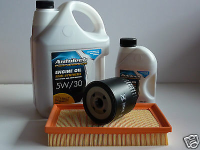 Ford Transit Connect 02-2013 1.8 TDCi Oil Air filters and 6 Ltrs 5w30 Motor Oil