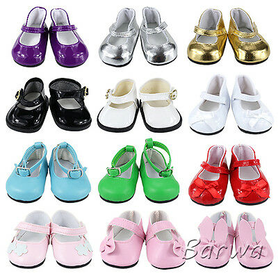 5 Cute Handmade Fashion Shoes for Our 18 Inch American Girl Doll Clothes Party