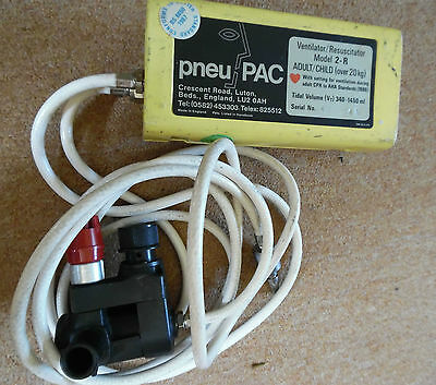 Pneu PAC Ventilator/Resuscitator 2 - R Adult/Child