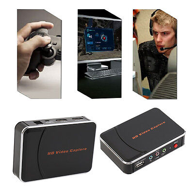New HD Game Video Capture 1080P HDMI YPBPR Recorder US Plug for Game Lovers FG