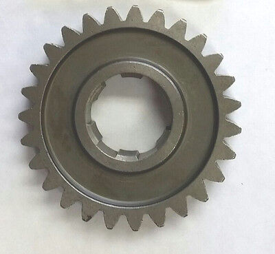 New 27 Tooth Mainshaft 1St Gear 57-90 Harley Sportster Xl Xlh  Rpl Hd #35277-52A