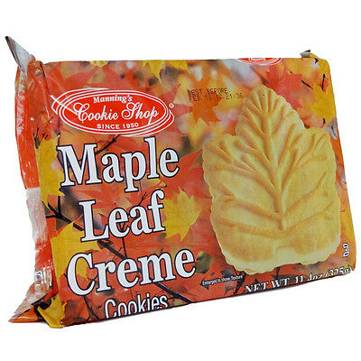 Maple Leaf Creme Cookies 11.4 Ounce
